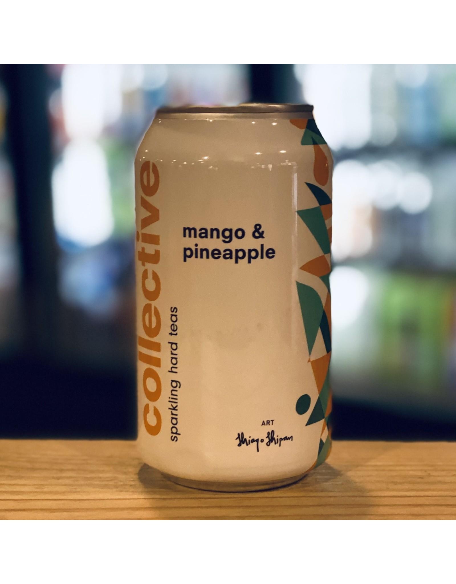 RTD Collective Arts Hard Tea Mango & Pineapple 12oz