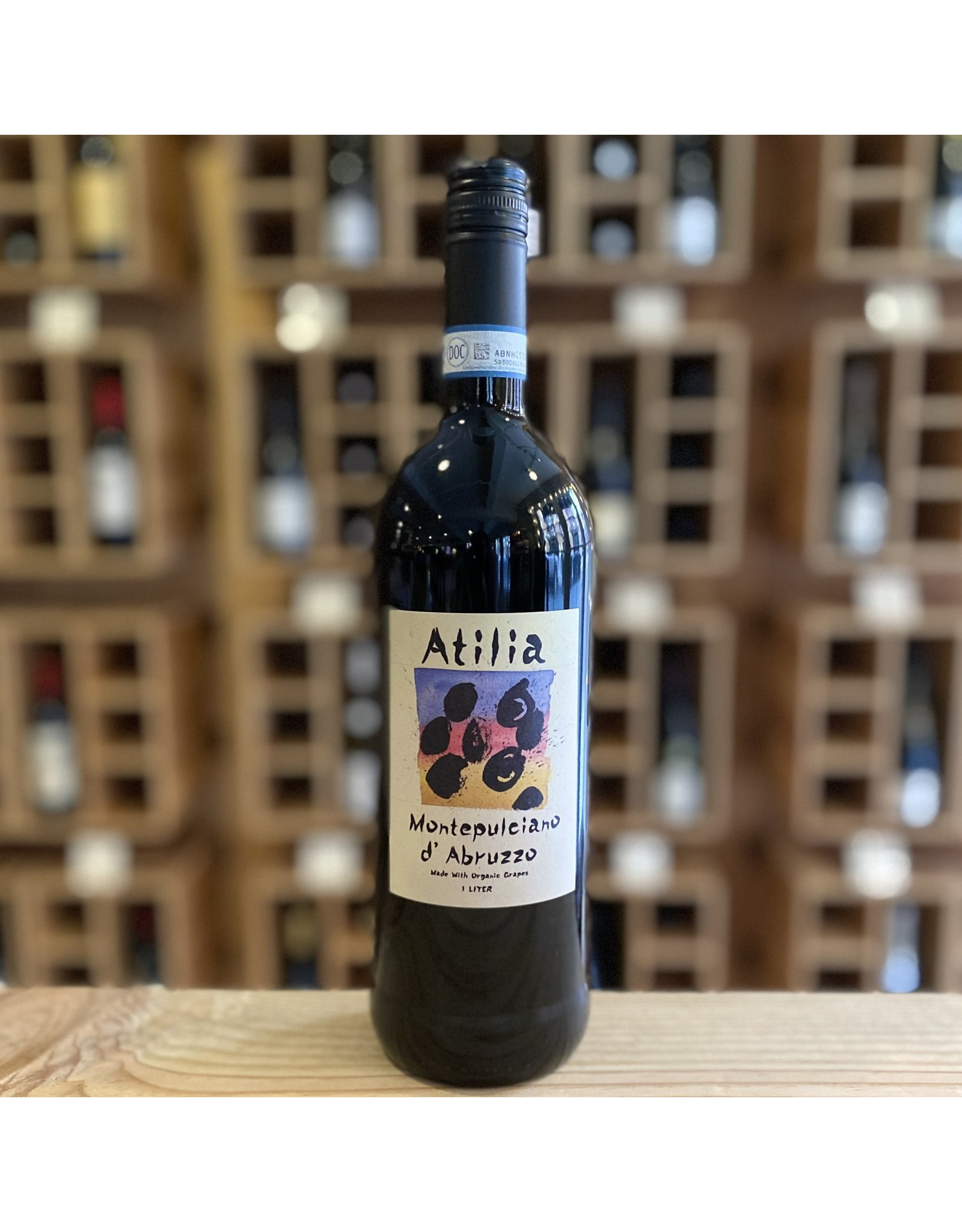 Organic Atilia Montepulciano d'Abruzzo  2018 1L - Abruzzo, IT