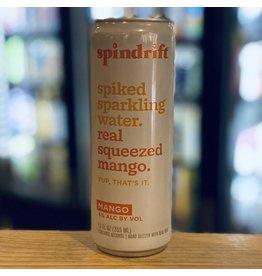 Hard Seltzer Spindrift Spiked Sparkling Water w/Mango - Newton, MA