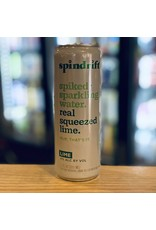 Hard Seltzer Spindrift Spiked Sparkling Water w/Lime - Newton, MA