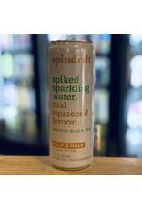 "Hard Seltzer Spindrift ""Half & Half"" Spiked Sparkling Water w/Lemon and Tea- Newton, MA"