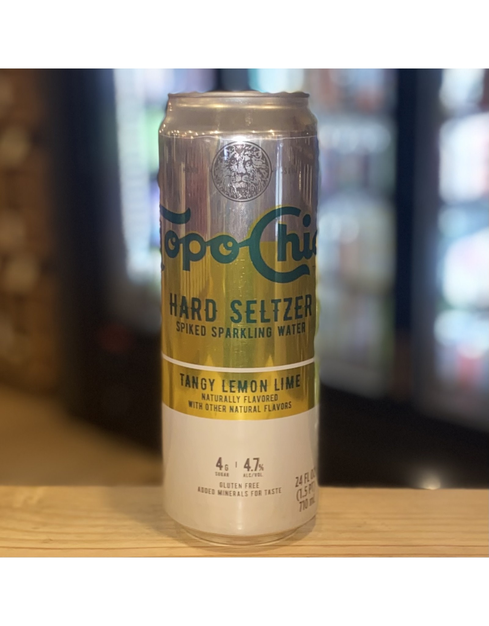 Topo Chico Tangy Lemon Lime Hard Seltzer Spiked Sparkling Water 24oz - Mexico