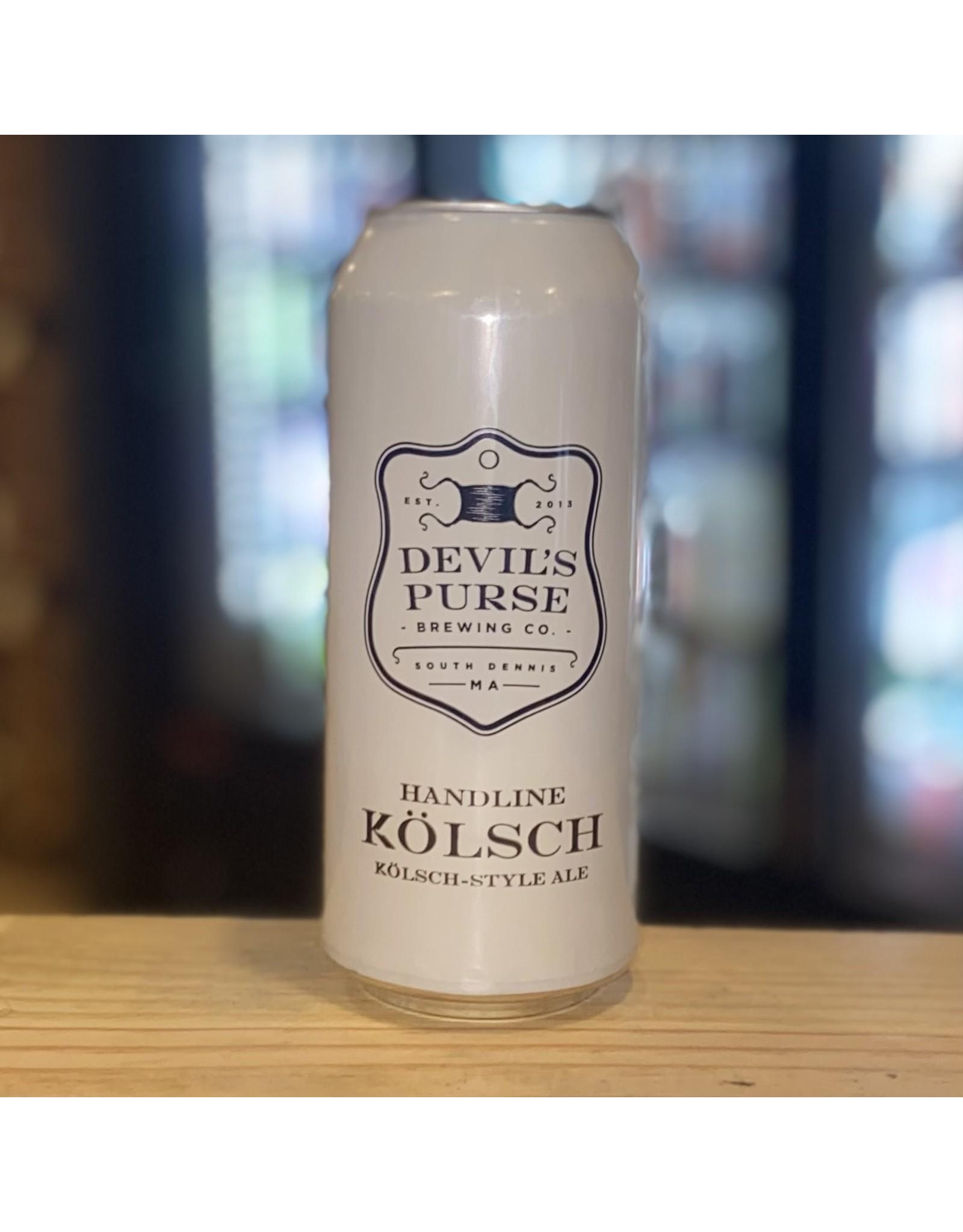 "Kolsch Devil's Purse ""Handline"" Kolsch - South Dennis, MA"