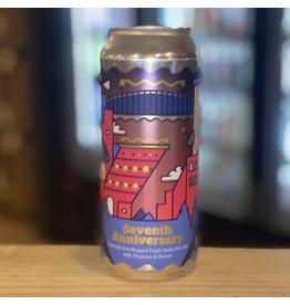 "IPA Burlington Beer Co ""Seventh Anniversary"" Septuple Dry Hopped TIPA w/Terpenes and Honey - Williston, Vermont"