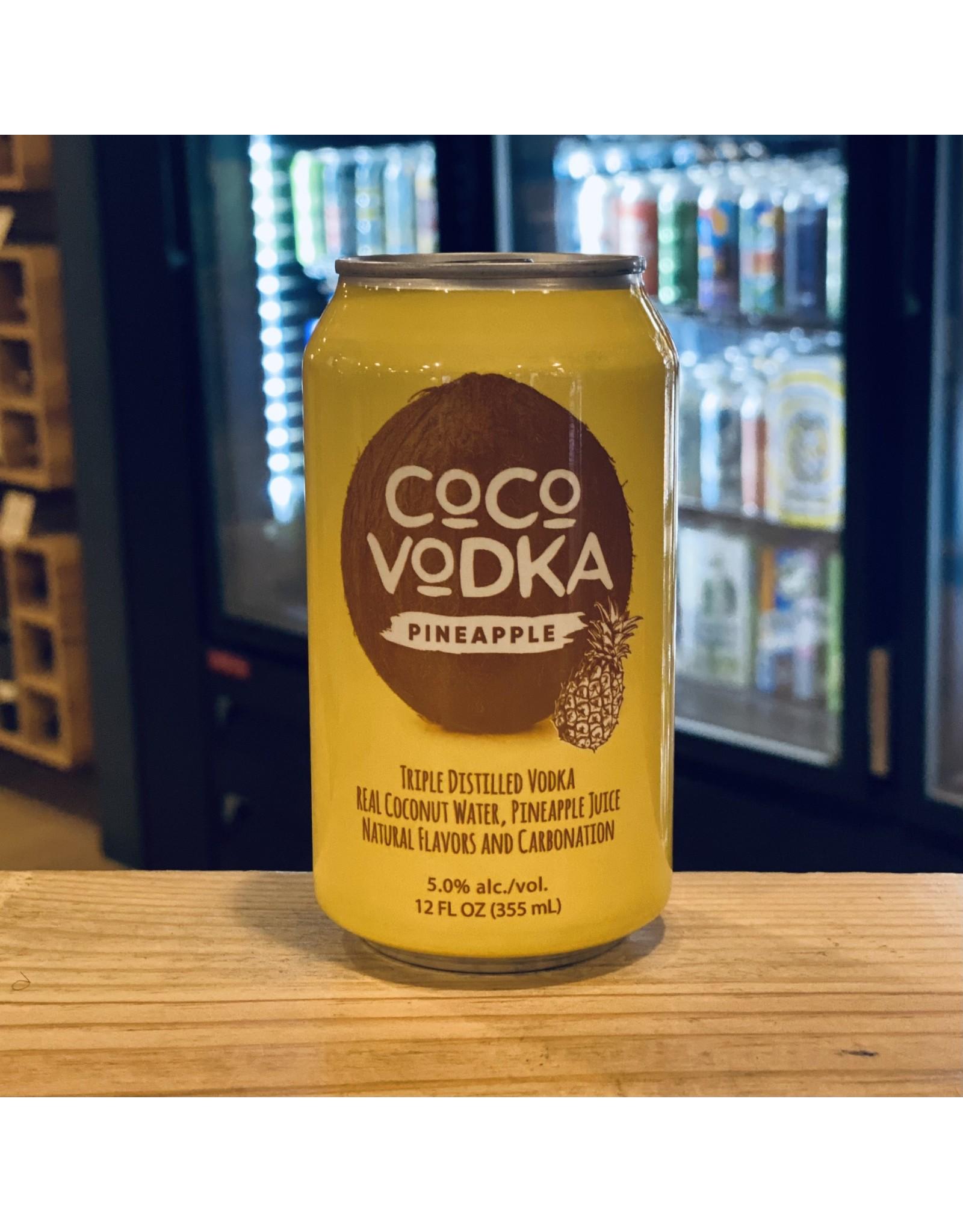 "The Bondi Distillery ""Coco Vodka"" Coconut Water w/Vodka and Pineapple RTD Cocktail - Utica, New York"