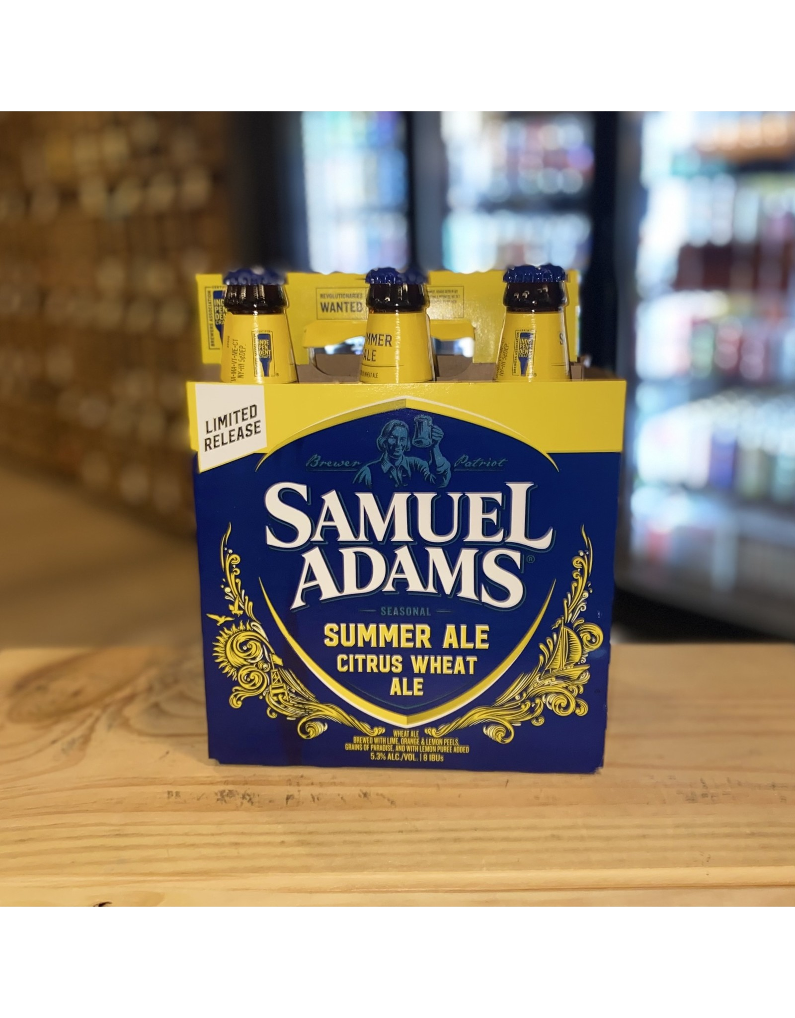 Wheat Sam Adam's Summer Ale 6-Pack - Boston, MA