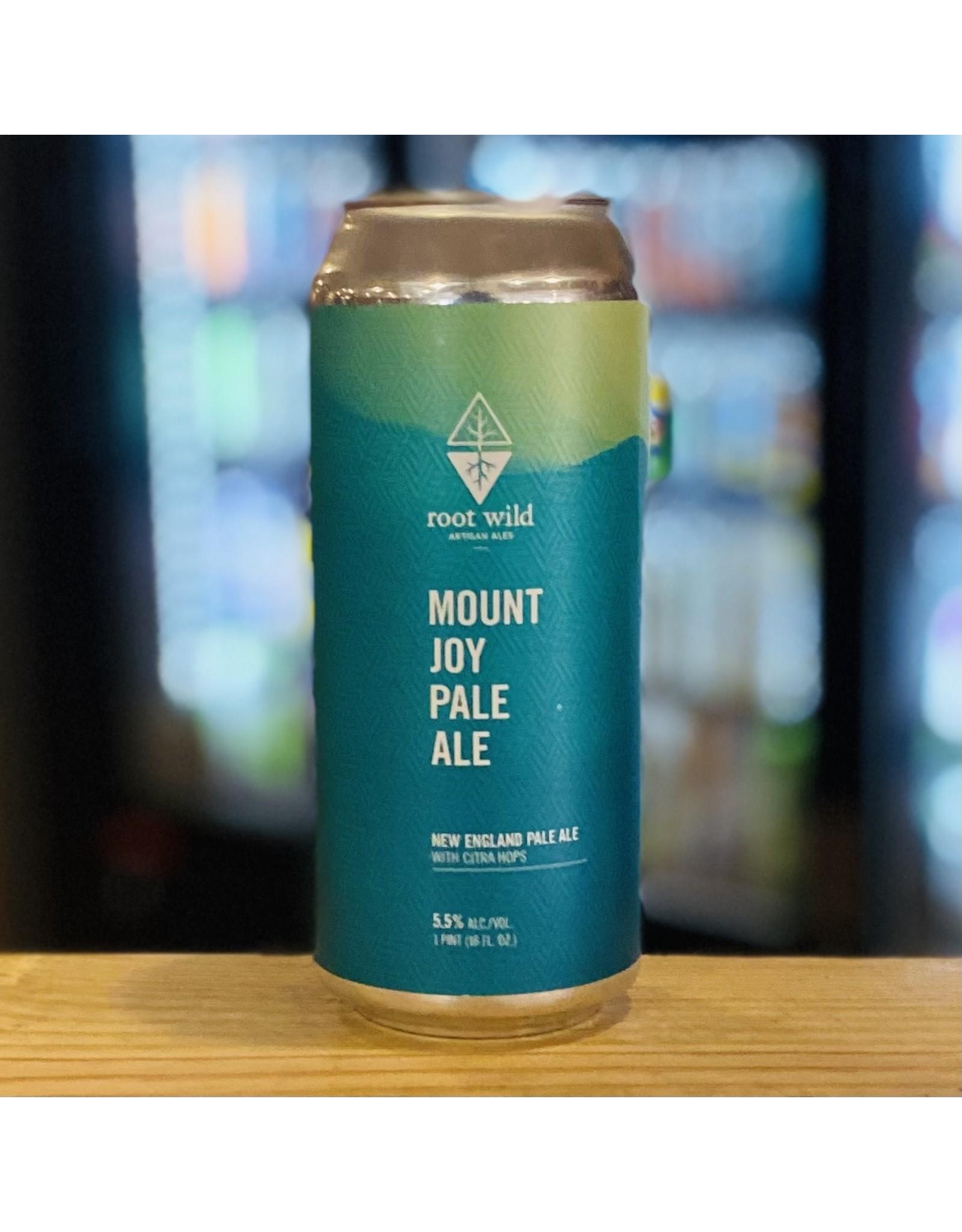"Pale Ale Root Wild Artisan Ales ""Mount Joy"" New England Pale Ale - Portland, Maine"
