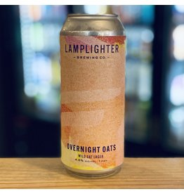 Lager Lamplighter Brewing Collaboration w/Cambridge Brewing ''Overnight Oats'' Wild Oat Lager - Cambridge, MA