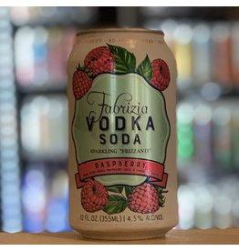 Fabrizia Spirits Raspberry Sparkling RTD Vodka Soda Cocktail - New Hampshire