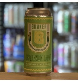 """Lager Bunker Brewing Co """"Hacienda Lime"""" Mexican Style Lager w/Lime - Portland, Maine"""