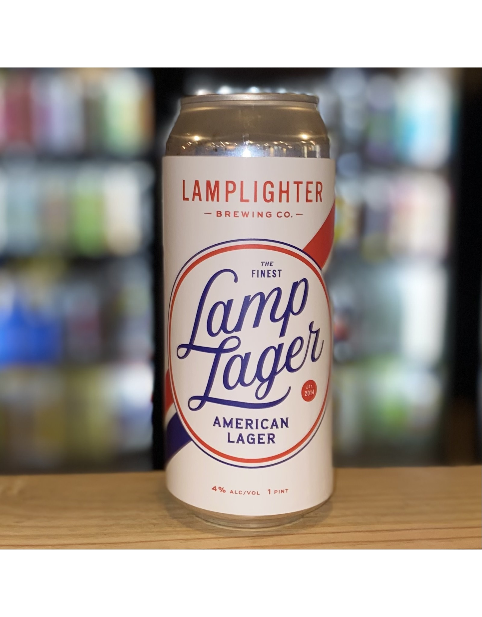 """Lager Lamplighter Brewing Co """"Lamp Lager"""" American Lager - Cambridge, MA"""