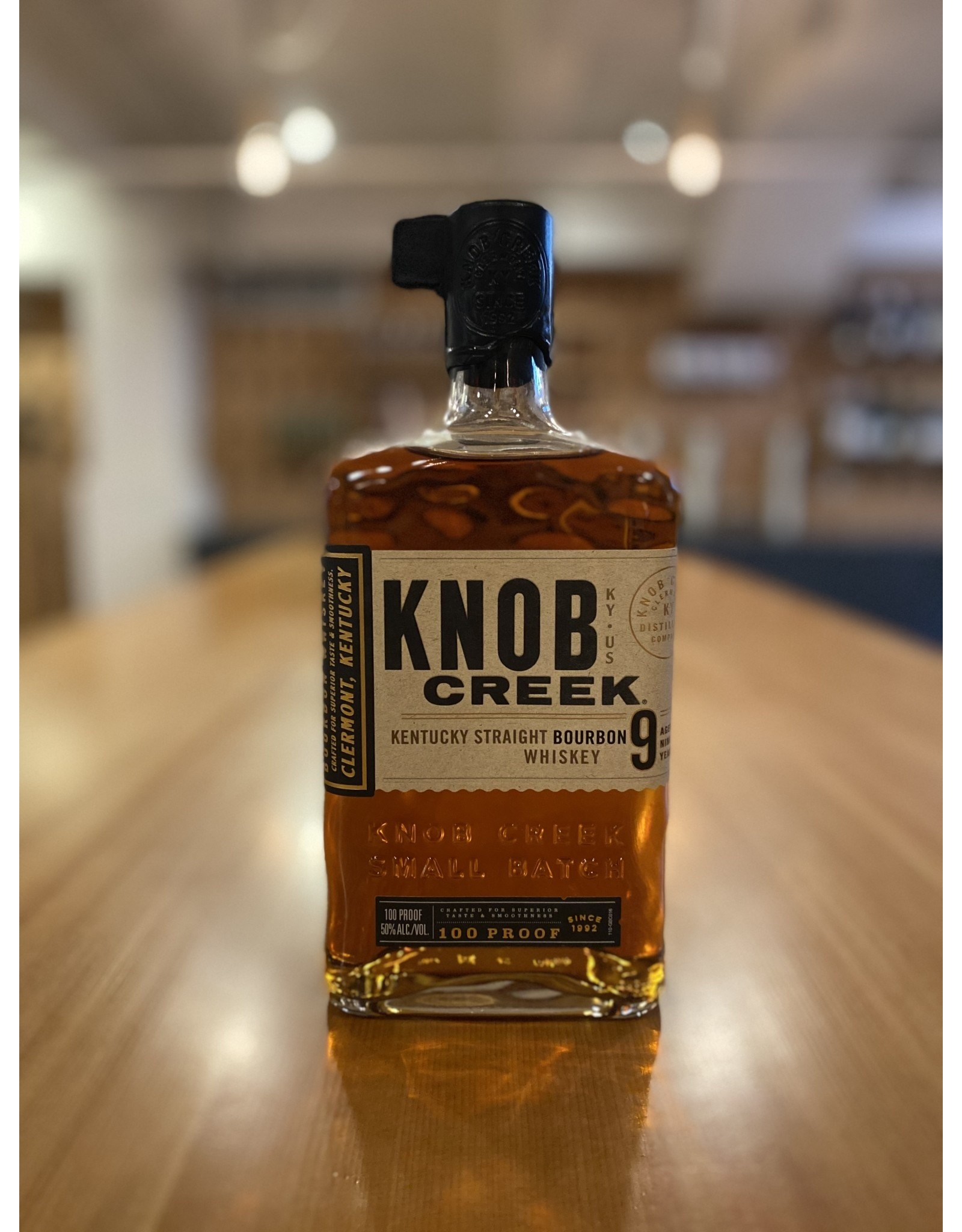 Knob Creek 9 Year Old Small Batch Straight Bourbon Whiskey 750ml - Kentucky