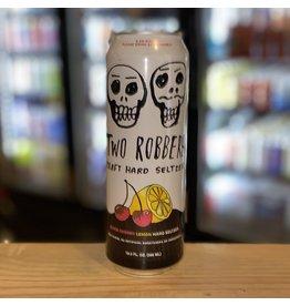 Two Robbers Craft Hard Seltzer w/Black Cherry and Lemon 19.2oz - Philadelphia, PA