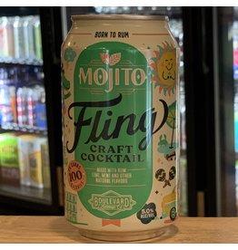 "RTD Boulevard Brewing ""Fling"" Mojito RTD Cocktail - Missouri"