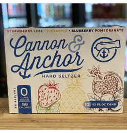 12-Pack Cannon & Anchor Hard Seltzer Variety 12-Pack - Rhode Island