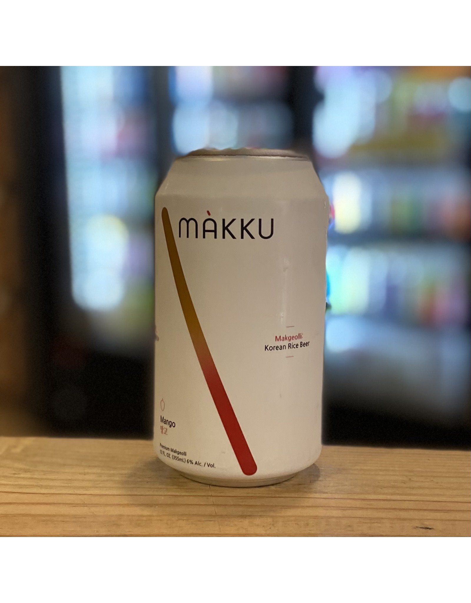 "Korea Makku ""Makgeolli"" Korean Rice Beer w/Mango - Korea"