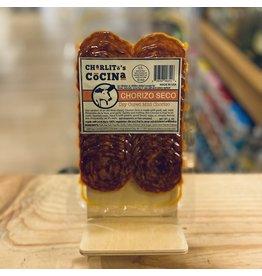 """Meat Charlito's Cocina """"Chorizo Seco"""" Dry Cured Mild Chorizo Sliced 3oz - Long Island City, NY"""