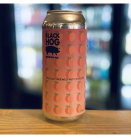 "Pale Ale Black Hog Brewing ""Fuzz"" Pale Ale w/Peaches - Oxford, CT"