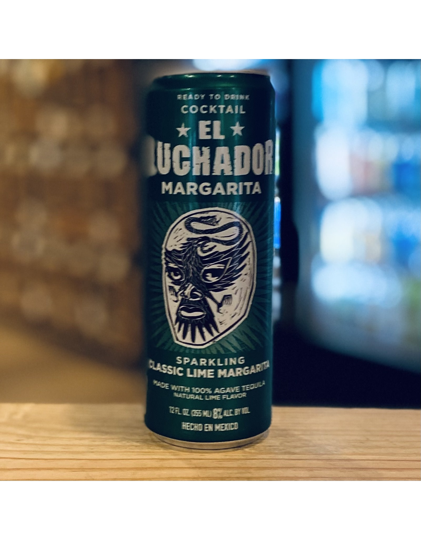 El Luchador RTD Sparkling Classic Lime Margarita - Mexico