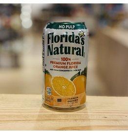 "Florida Natural ""Premium"" Florida Orange Juice Not From Concentrate 11.5oz Can - Lake Wales, Florida"
