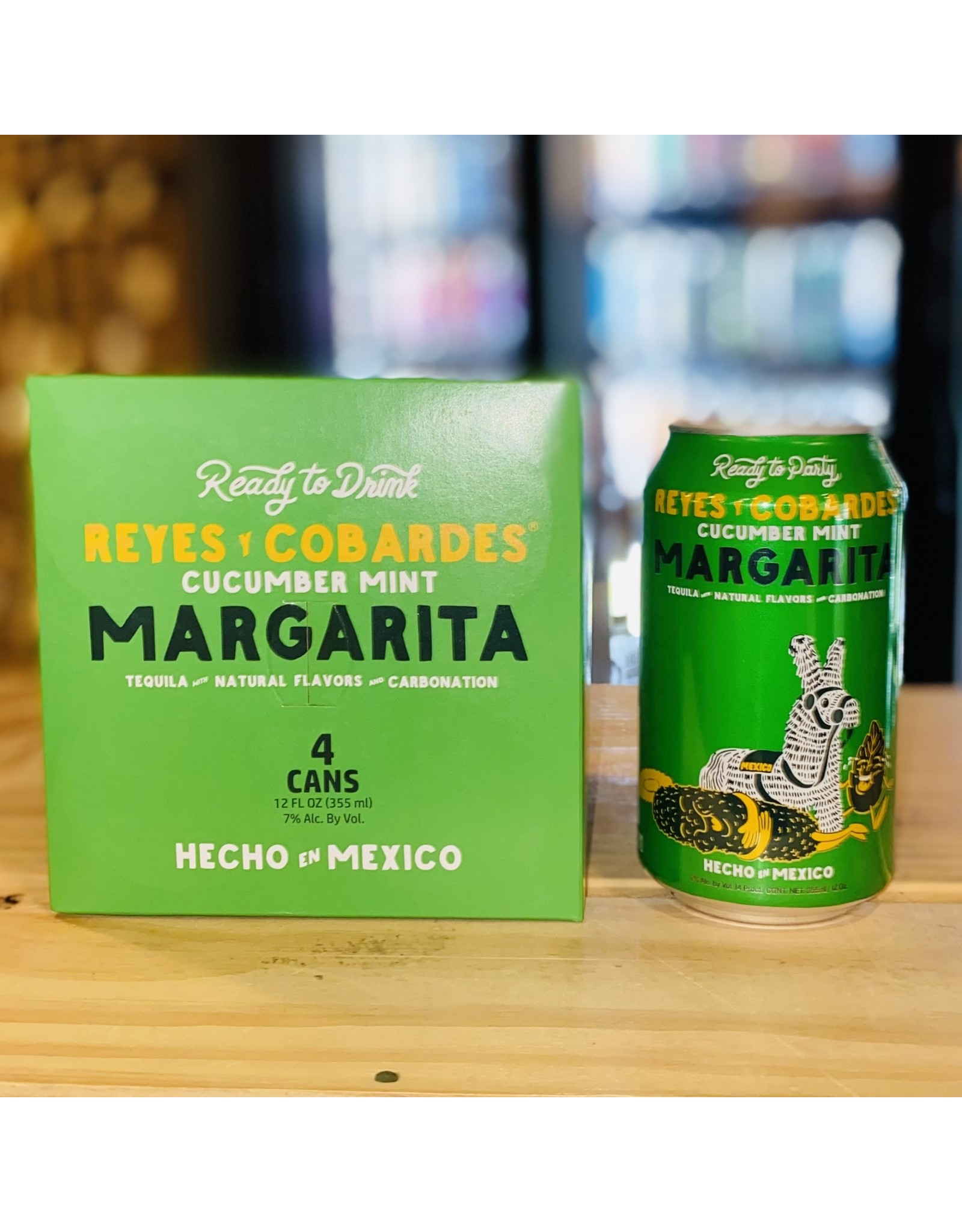 Reyes Y Cobardes RTD Cucumber Mint Margarita - Mexico