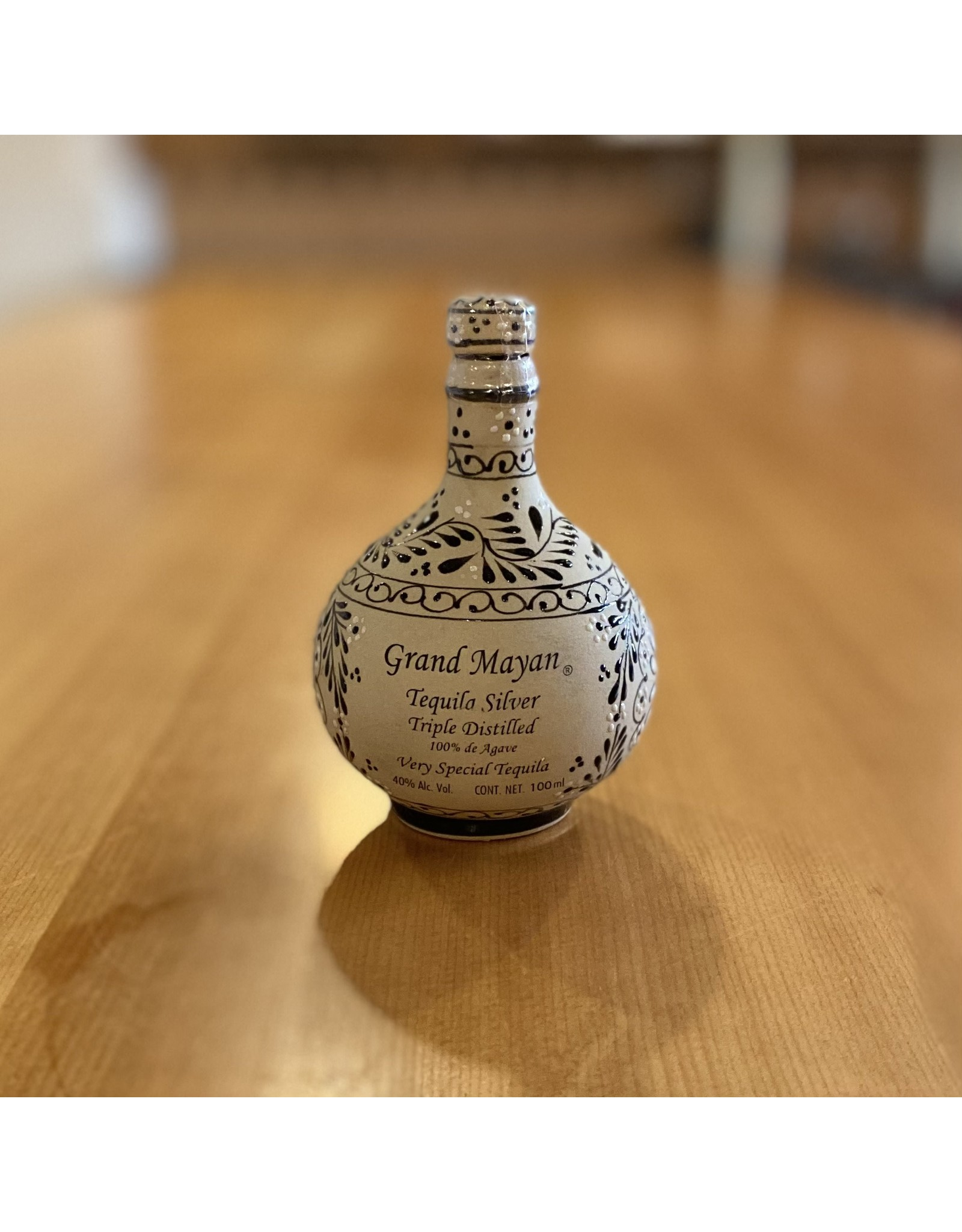 Grand Mayan Triple Distilled Silver Tequila 100ml - Mexico