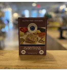 """Cracker Onesto Gluten-Free """"Everything"""" Crackers - Bristol, Vermont"""