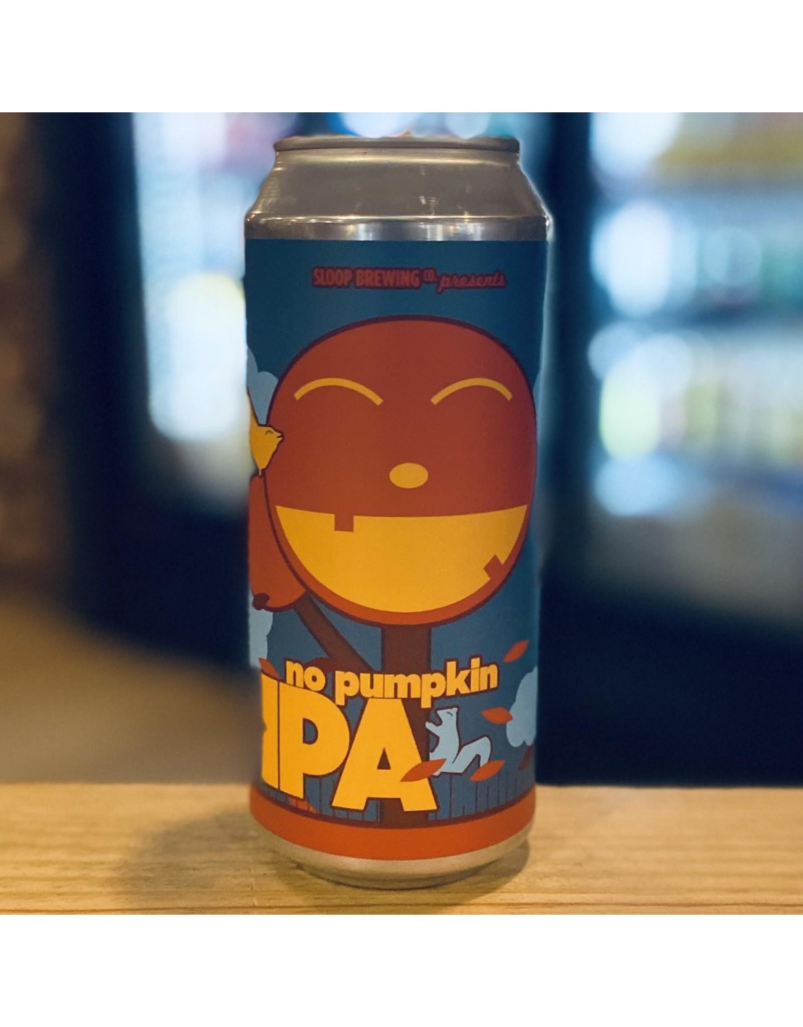 "NEIPA Sloop Brewing Co ""No Pumpkin"" NEIPA - Hampton, NH"