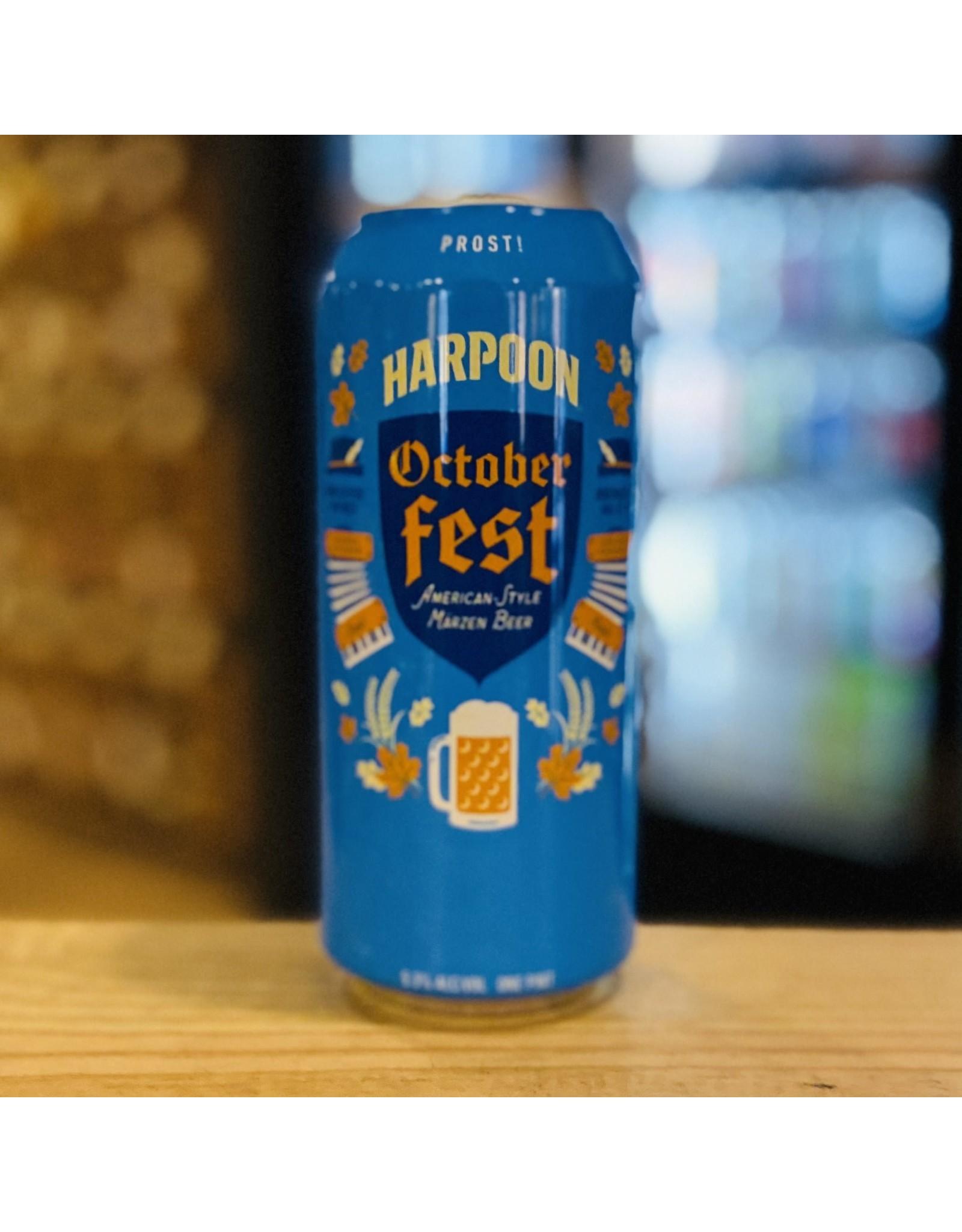 """Seasonal Harpoon """"Octoberfest"""" American Style Marzen Beer - Boston, MA"""