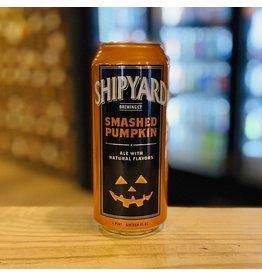 "Seasonal Shipyard Brewing Co ""Smashed Pumpkin"" Ale w/Natural Flavors - Portland, Maine"