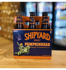 "Seasonal Shipyard ""Pumpkinhead"" Ale w/Natural Flavors 6-Pack - Portland, Maine"