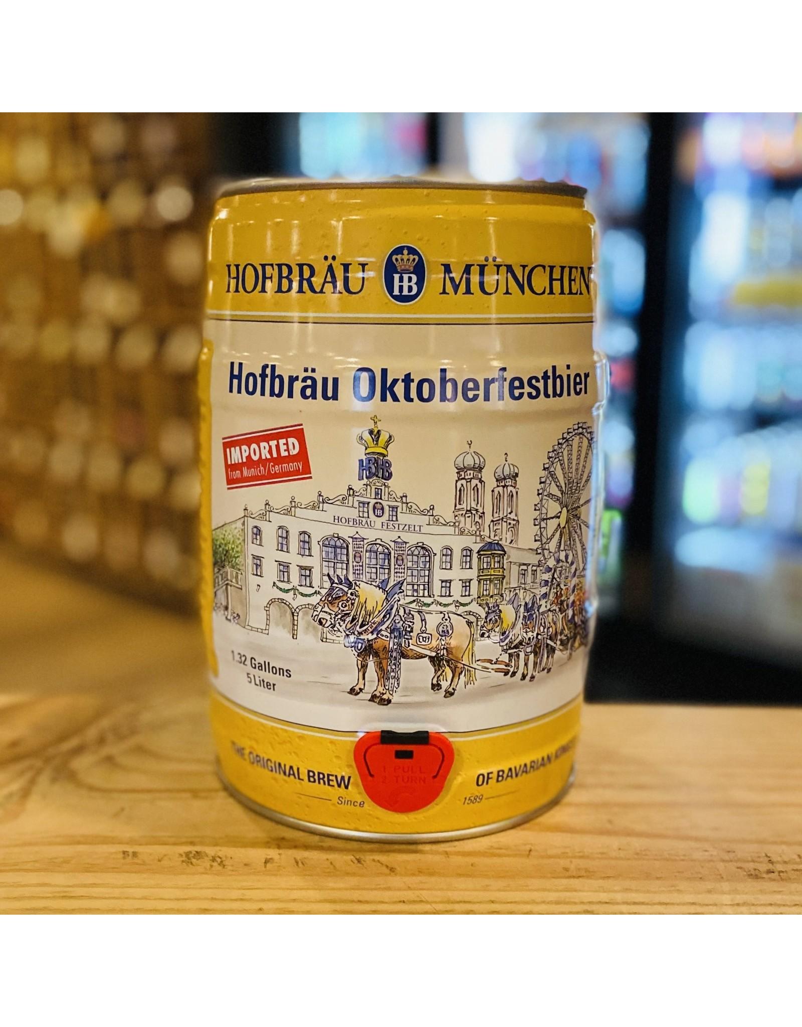 """Seasonal Hofbrau """"Oktoberfestbier"""" Fest Beer 5 Liter - Munich, Germany"""
