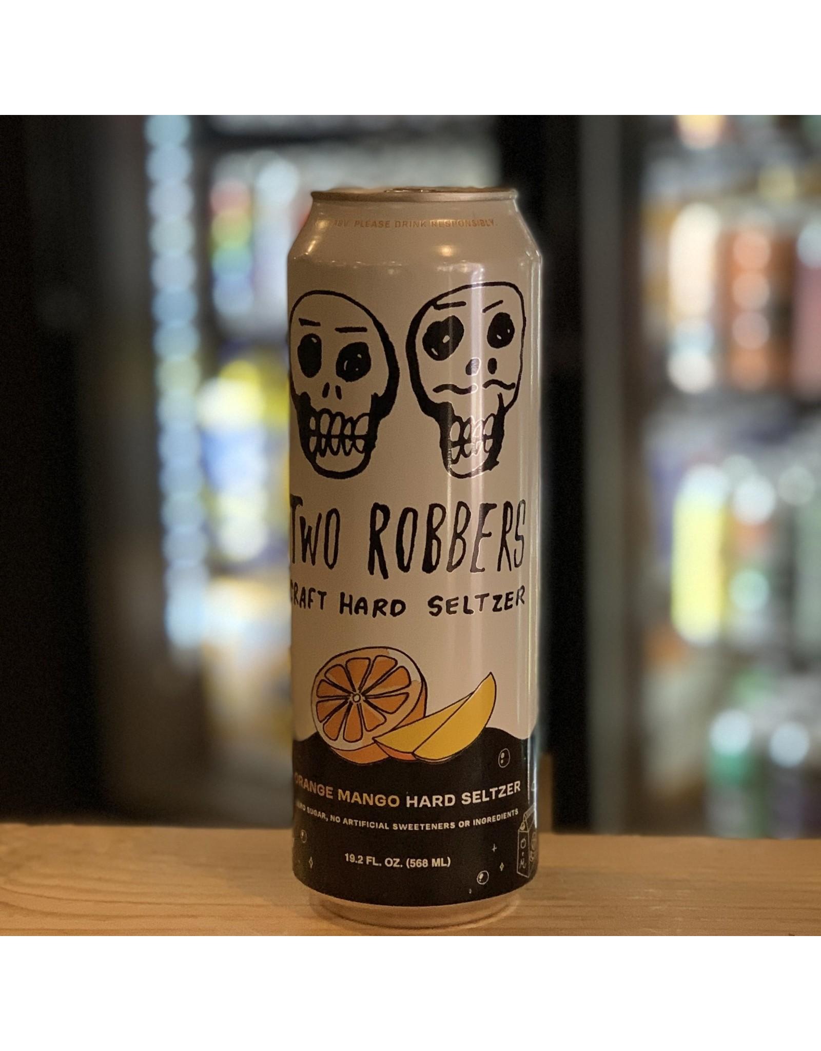 Two Robbers Craft Hard Seltzer w/Orange and Mango 19.2oz - Philadelphia, PA