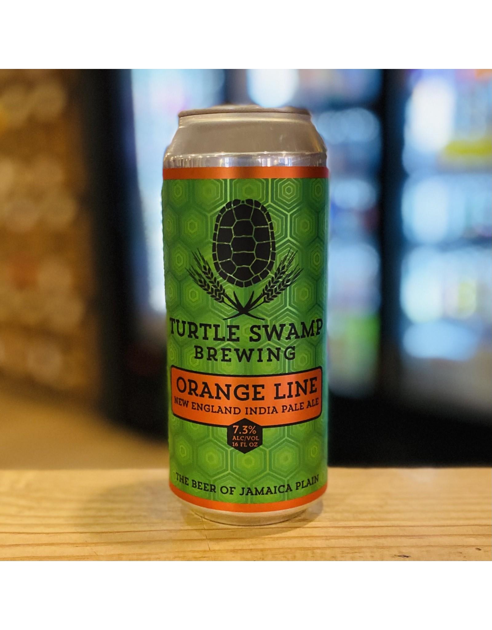 "NEIPA Turtle Swamp Brewing ""Orange Line"" NEIPA - Jamaica Plain, MA"