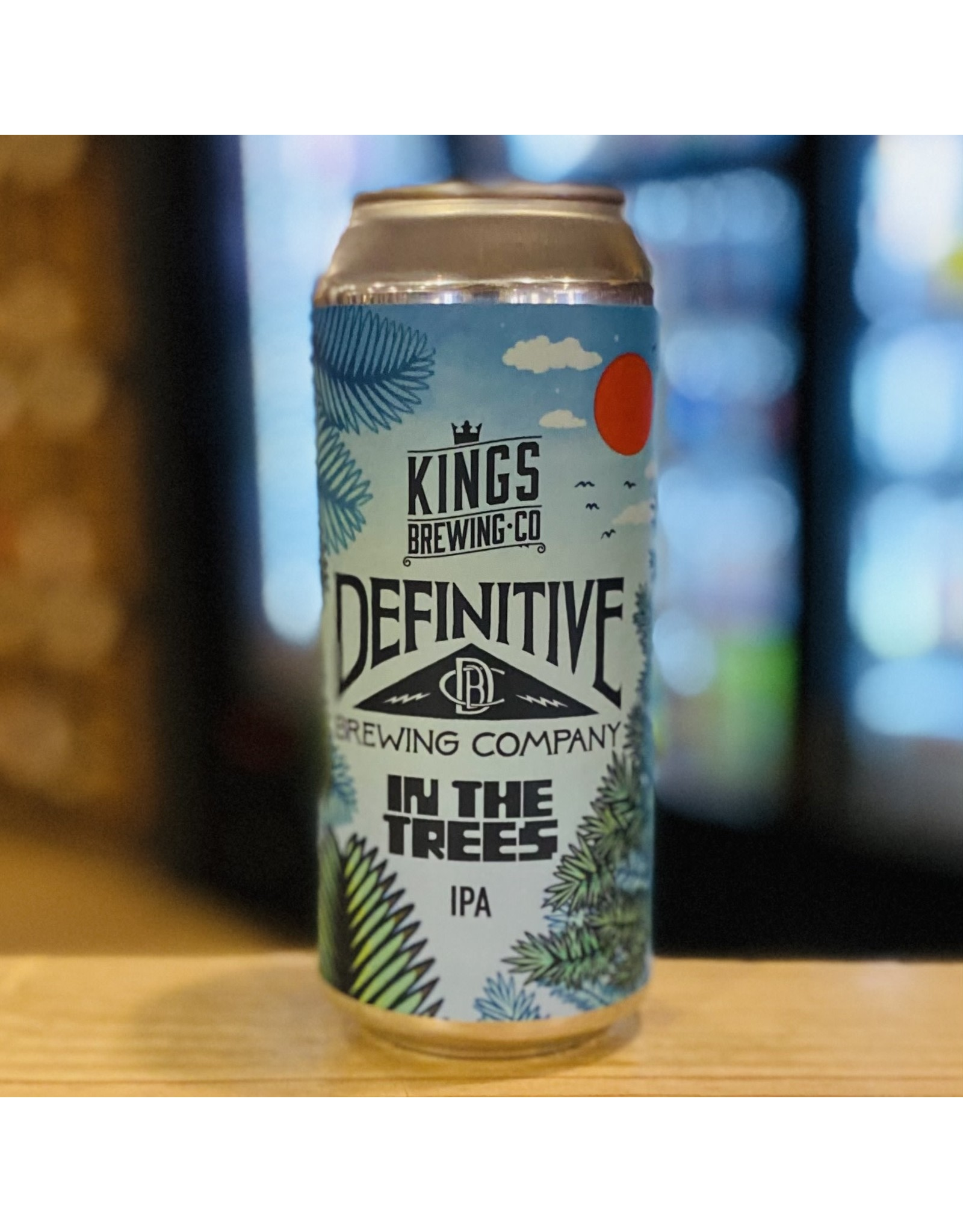 """IPA Definitive Brewing Co w/Kings Brewing Co """"In the Trees"""" IPA  - Portland, Maine"""