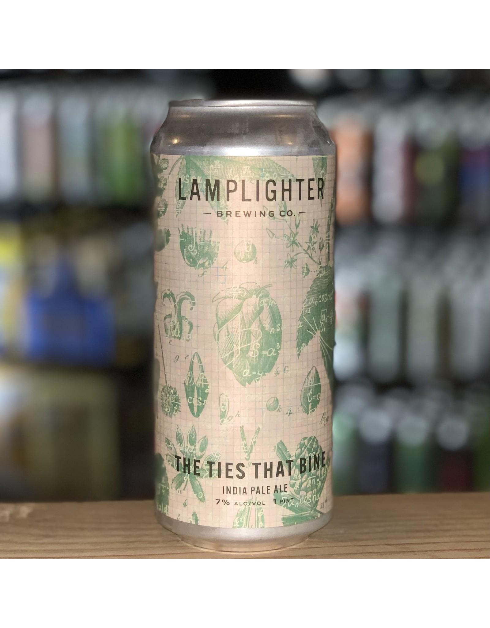 """IPA Lamplighter Brewing Co """"The Ties That Bine"""" IPA - Cambridge, MA"""