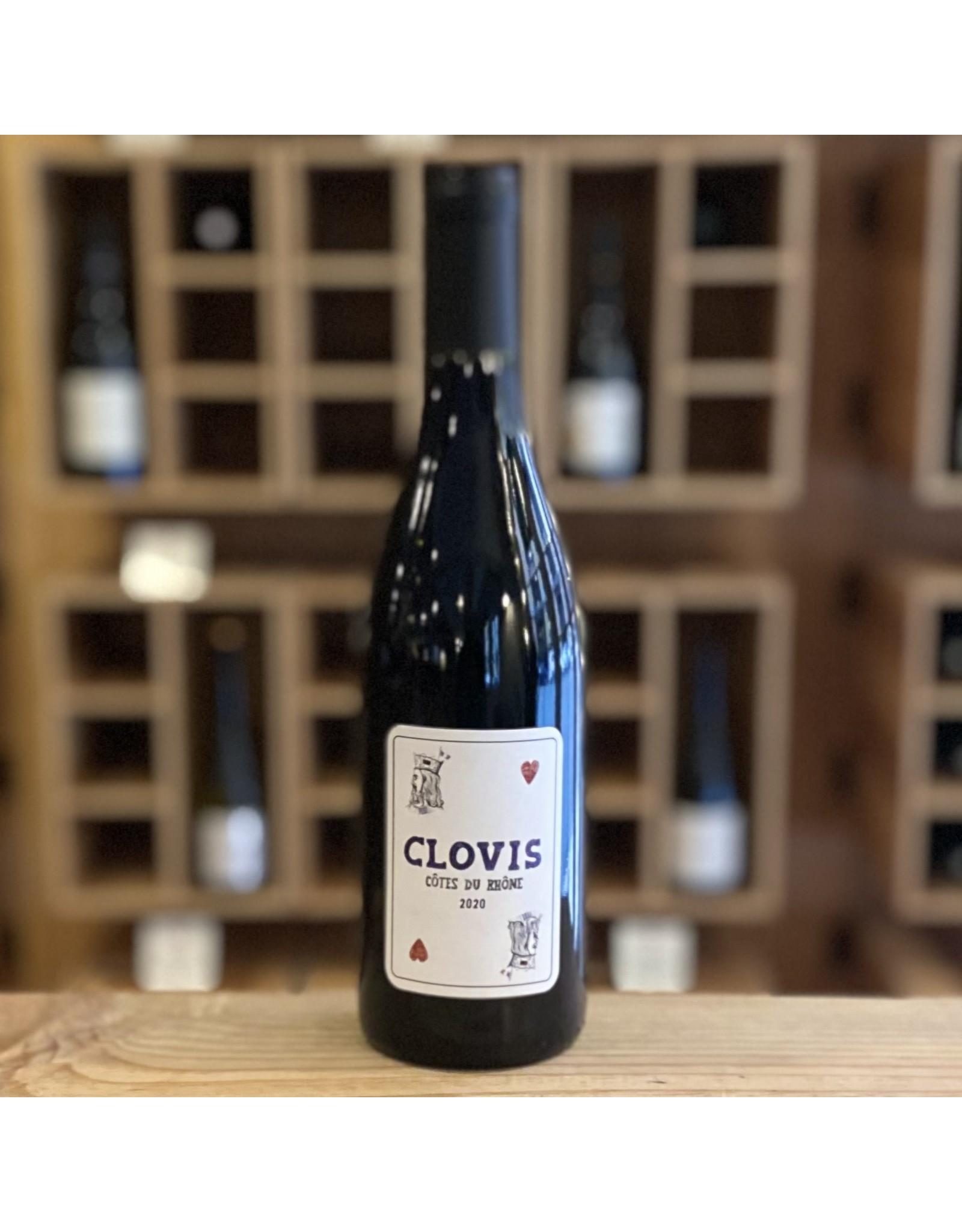 Organic Clovis Rouge 2020 - Cotes du Rhone, France