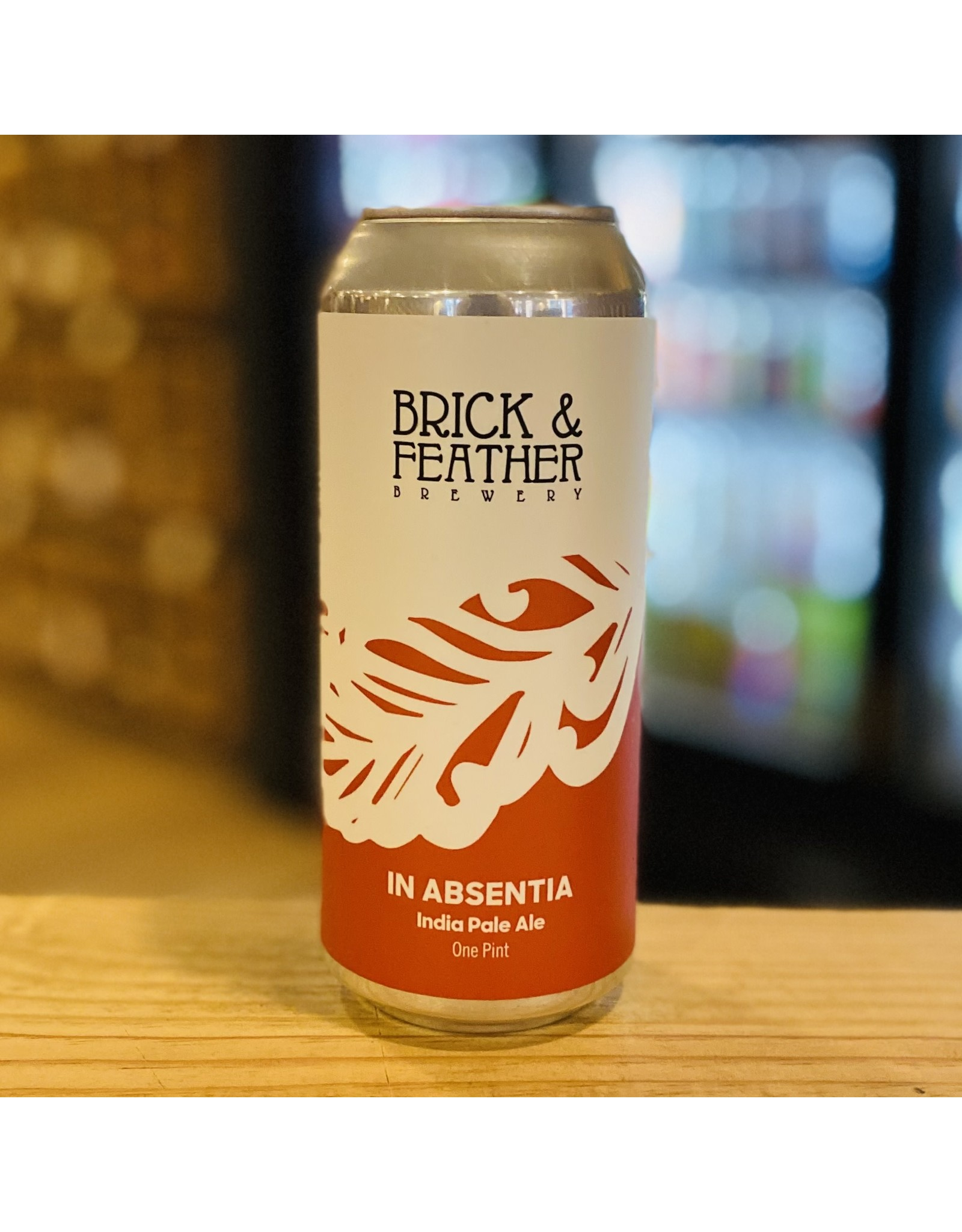 """IPA Brick & Feather Brewing """"In Absentia"""" IPA - Norwood, MA"""