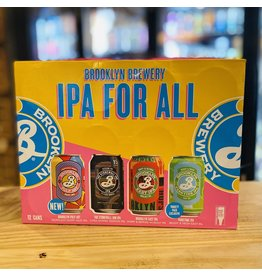 """12-Pack Brooklyn Brewery """"IPA for All"""" IPA Variety 12-Pack"""
