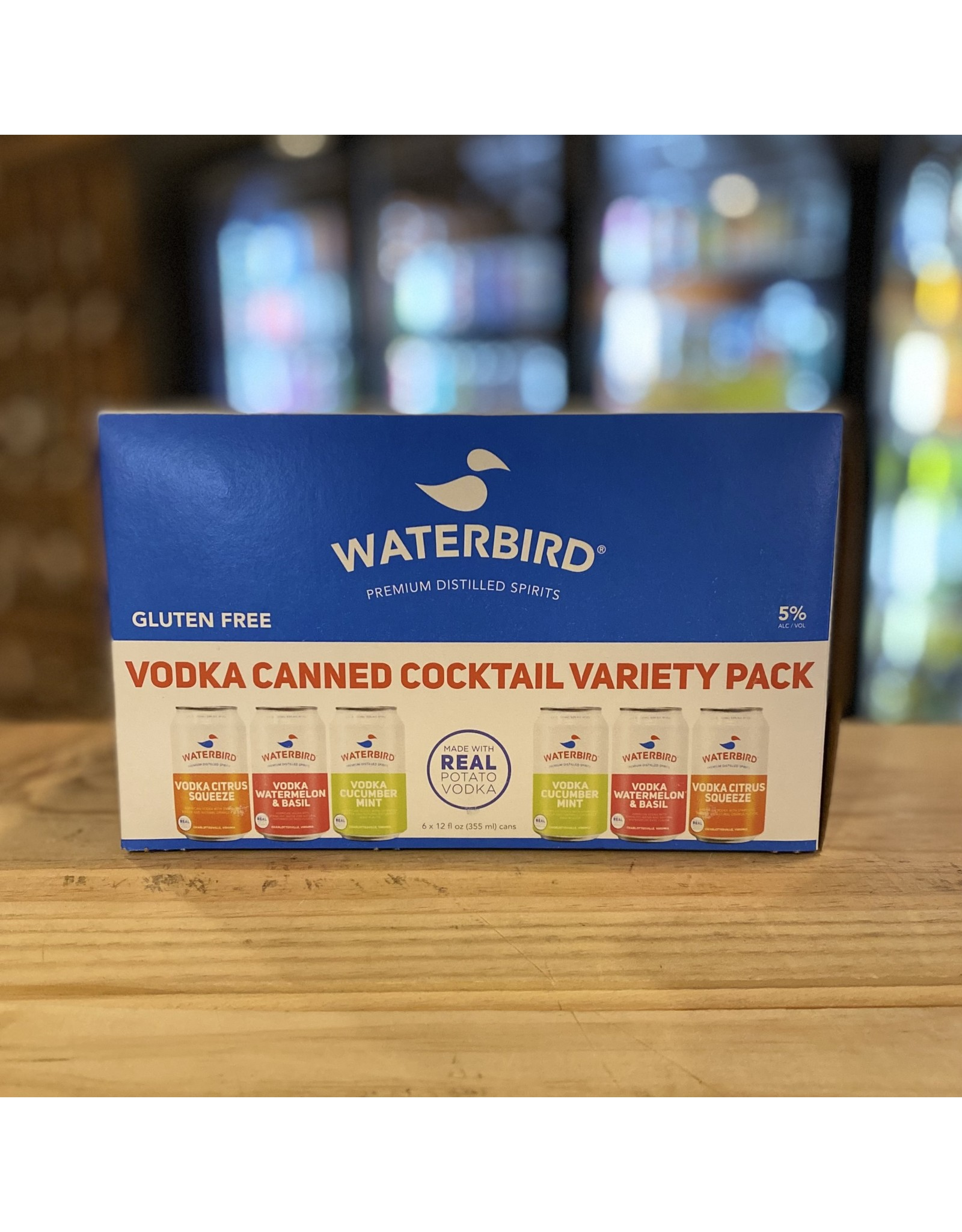 Waterbird Vodka RTD Canned Cocktail Variety Pack - Charlottsville, VA