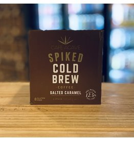 """Cafe Agave """"Salted Caramel"""" Spiked Cold Brew - CaliforniaCoffee  187ml - Cold Spring, MN"""
