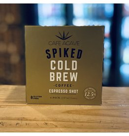 """Cafe Agave """"Espresso Shot"""" Spiked Cold Brew Coffee  187ml - Cold Spring, MN"""