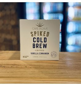 """Cafe Agave """"Vanilla Cinnamon"""" Spiked Cold Brew - CaliforniaCoffee  187ml - Cold Spring, MN"""