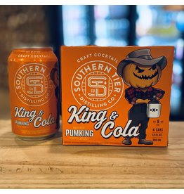 """Southern Tier """"King & Cola"""" RTD Cocktail w/Pumpkin Whiskey and Cola  - Lakewood, NY"""