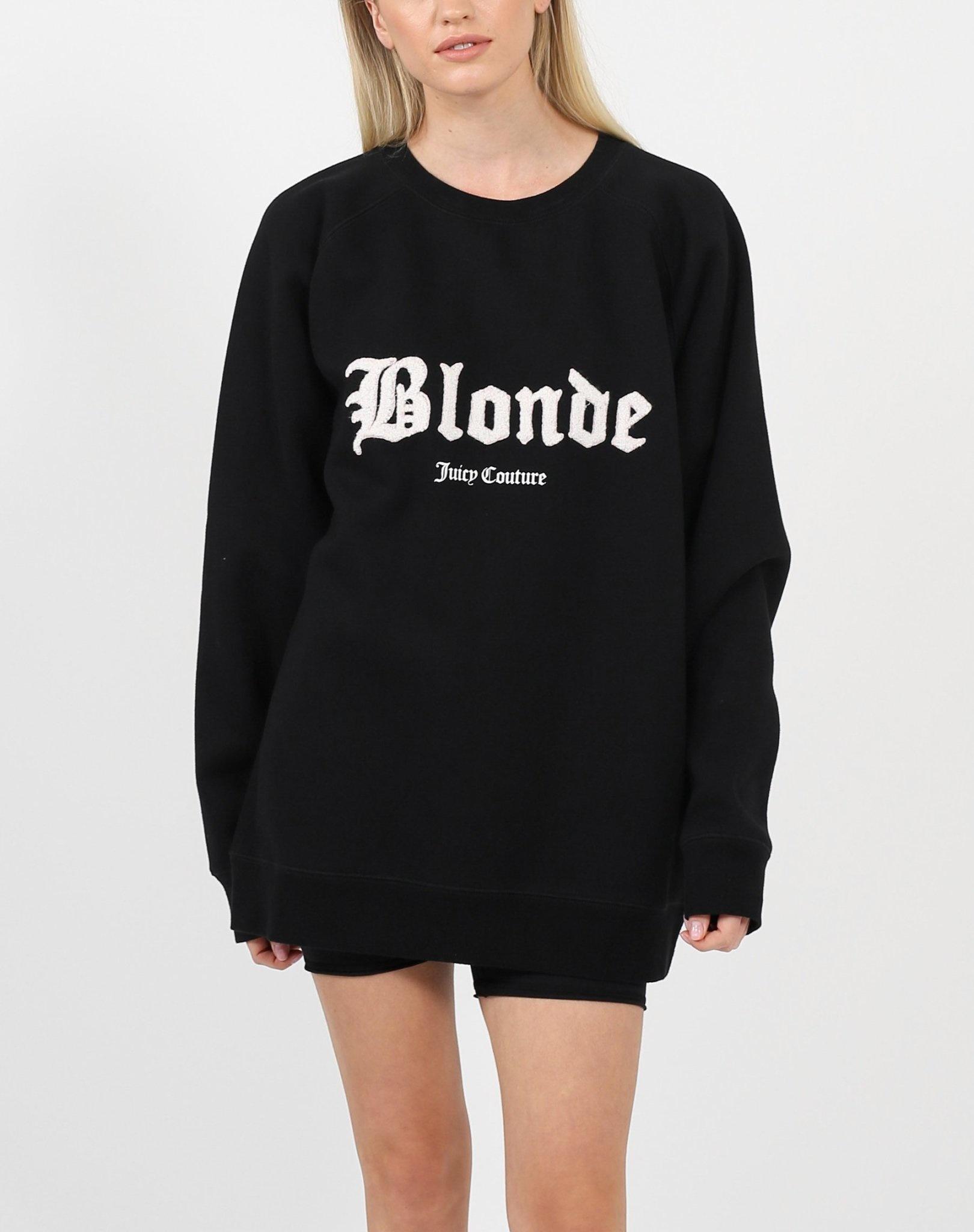 Brunette The Label Blonde Big Sister Crew