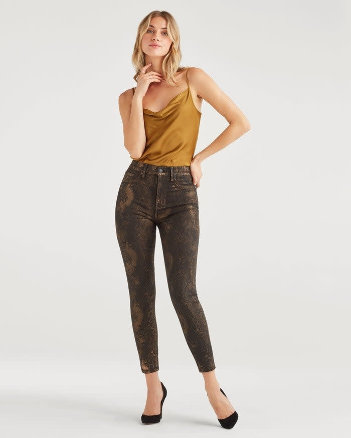 Seven for all Mankind High Waist Faux Pocket