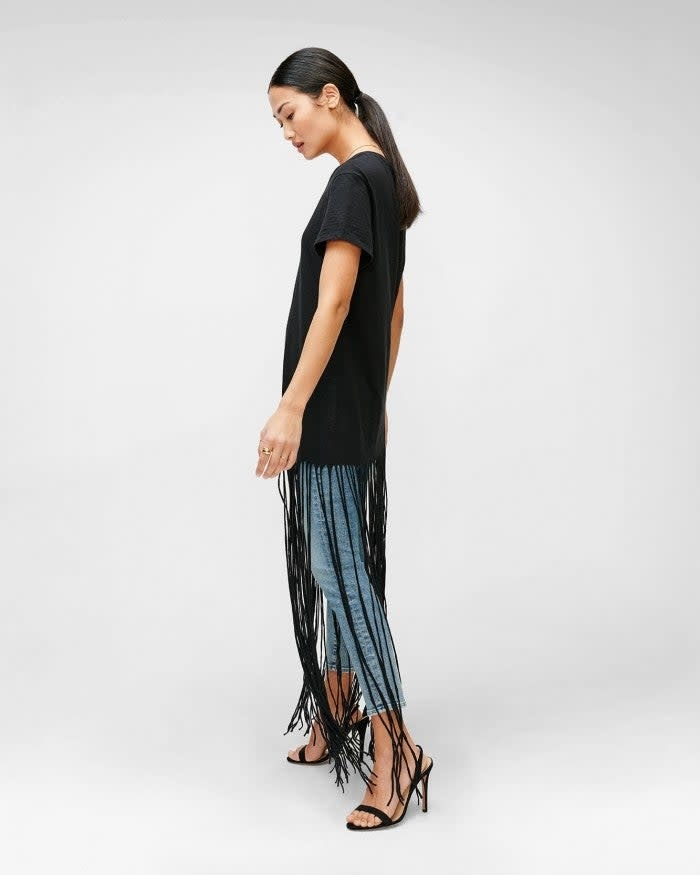 Seven for all Mankind Long Fringe Tee