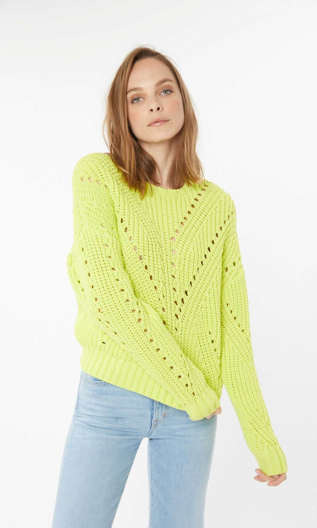 Generation Love Nadia Perforated Sweater