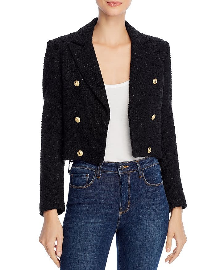 Generation Love Gwenyth Tweed Blazer