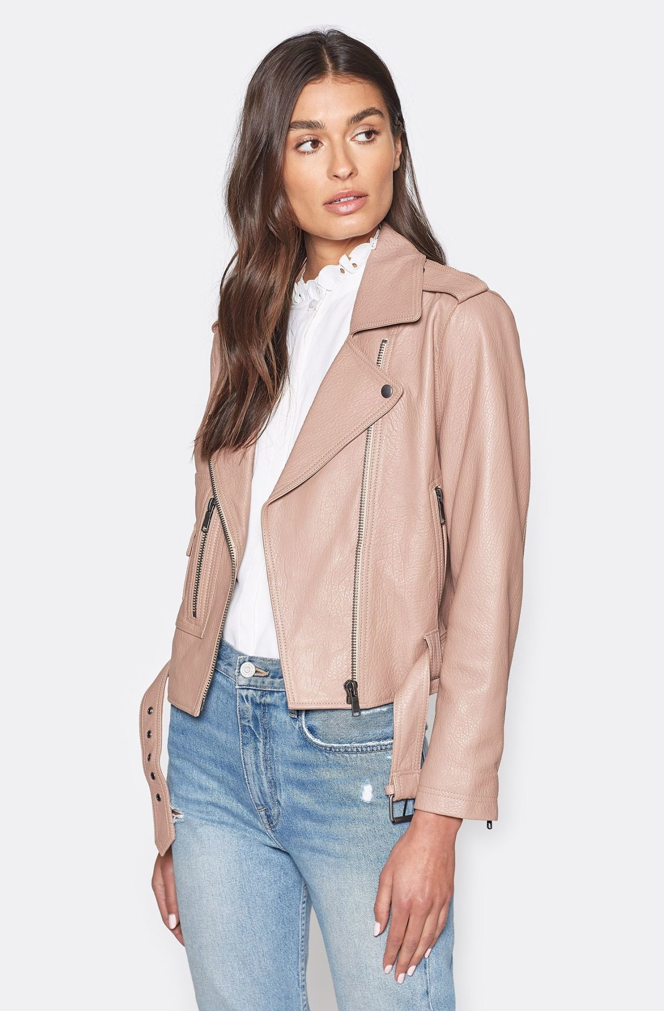 Joie Ondra Leather Jacket